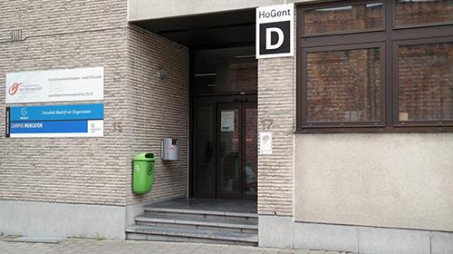 Lesplaats Gent - Nonnemeersstraat